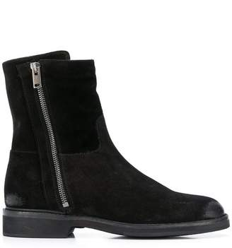 Pantanetti side zipped ankle boots