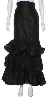 Oscar de la Renta Silk Maxi Skirt w/ Tags
