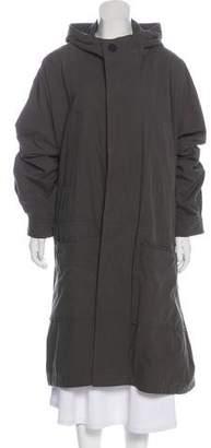 Hope Long Hooded Coat