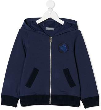 Christian Dior zipped hooded jacket