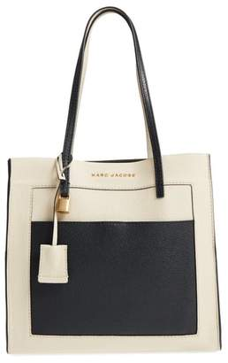Marc Jacobs The Grind Color Block Leather Tote