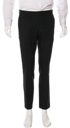 Tim Coppens Striped Wool Casual Pants