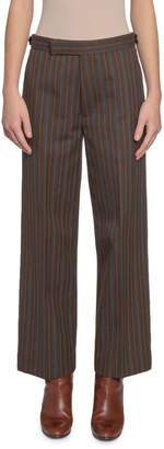 Marc Jacobs Striped Straight-Leg Pants