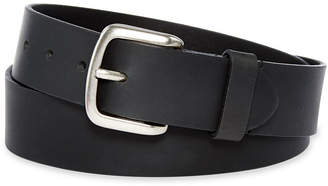 Dickies Black Leather Belt