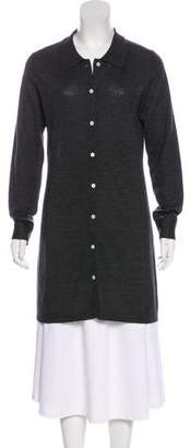 Billy Reid Wool Longline Cardigan