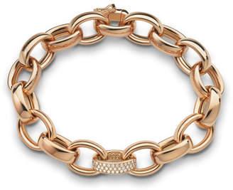 Monica Rich Kosann 18k Rose Gold Marilyn Link Bracelet