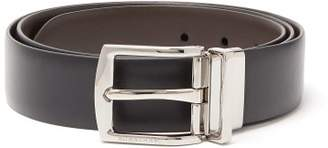 Burberry Leather Belt - Mens - Black