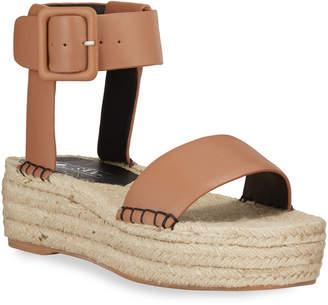 Sol Sana Leslie Leather Espadrille Sandals