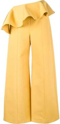 Rosie Assoulin ruffle wide-leg trousers