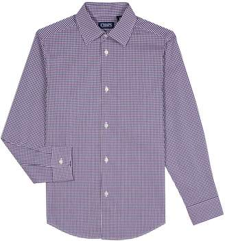 Chaps Boys 8-20 Gingham Button-Down Shirt
