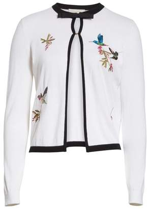 Ted Baker High Grove Embroidered Cardigan