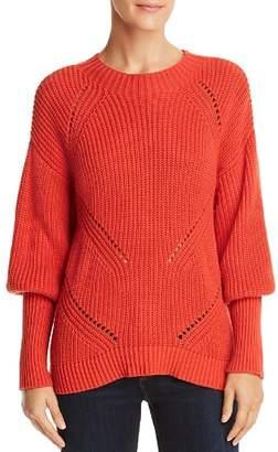 Joie Landyn Juliet-Sleeve Sweater