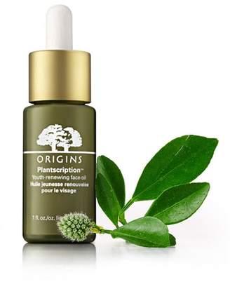 Origins PlantscriptionTM Youth-renewing face oil