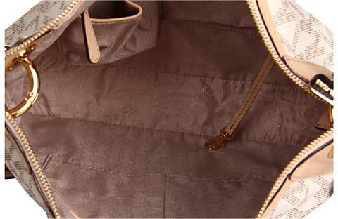 MICHAEL Michael Kors Large Jet Set Signature PVC Shoulder Bag