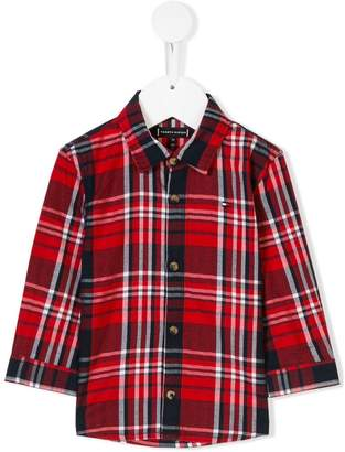 Tommy Hilfiger Junior plaid shirt