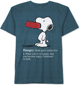 JEM Peanuts Hangry Snoopy Men's T-Shirt
