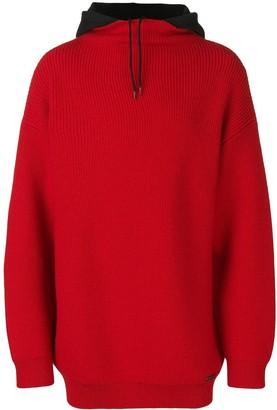Balenciaga knitted hoodie