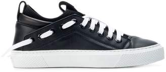 Bruno Bordese embossed logo sneakers