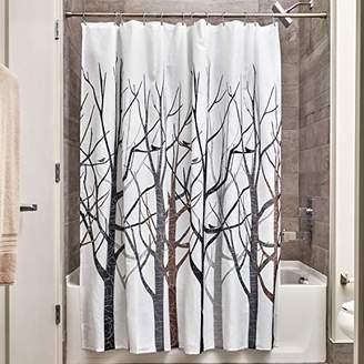 InterDesign Forest Fabric Shower Curtain