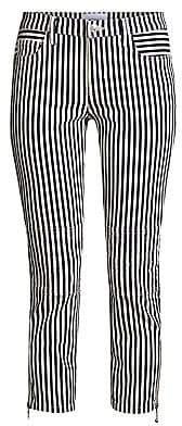 Current/Elliott Women's The Cropped Lexton Stripe Jeans