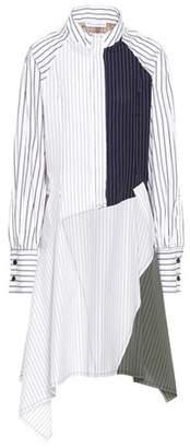 J.W.Anderson Striped cotton shirt dress