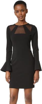 Parker Terriana Combo Dress $325 thestylecure.com
