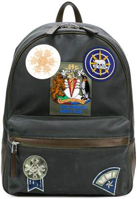 Mr & Mrs Italy patch-appliquéd backpack