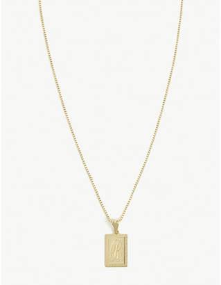 Vanessa Mooney R initial necklace