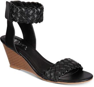 XOXO Sonnie Wedge Sandals