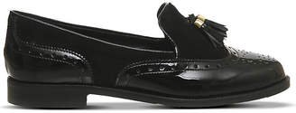 Office Ringo leather and suede tassel loafers