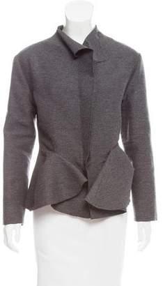 Lanvin Wool Peplum Jacket