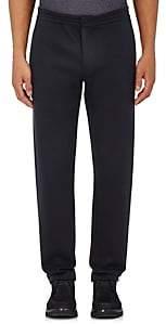 Giorgio Armani Men's Cotton-Blend Jersey Trousers - Navy