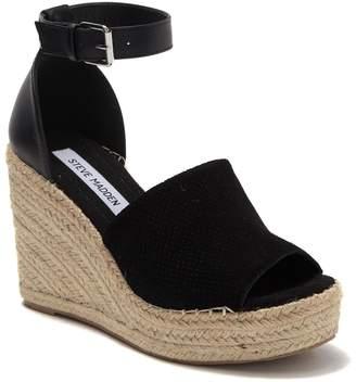 Steve Madden Josey Platform Wedge Espadrille Sandal