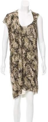 Preen by Thornton Bregazzi Preen Camouflage Asymmetrical Dress
