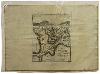 One Kings Lane Vintage Antique Map of Delphi