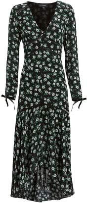 Intermix Athena Printed Dress