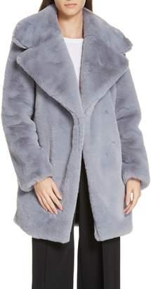 Milly Riley Faux Fur Coat