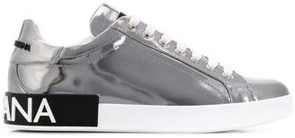 Dolce & Gabbana branded lace-up sneakers