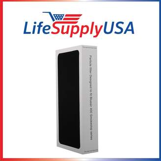 Blueair 2 pk Air Purifier replacement Filter fits ALL SmokeStop 400 Models 401, 410B, 403, 450E,400PF, 401PF ; Designed & Engineered By LifeSupplyUSA