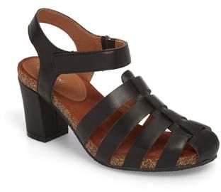 Sudini Carrara Block Heel Sandal
