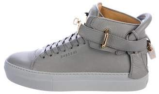 Buscemi 100MM High-Top Sneakers w/ Tags