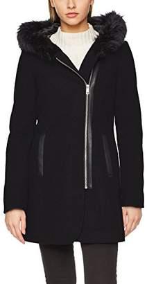 Vero Moda Women's Vmmacy 3/4 Wool Jacket Coat,(Manufacturer Size: Medium)