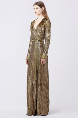 Ariel Armour Wrap Gown $2,200 thestylecure.com