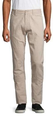 James Perse Twill Straight Leg Pants