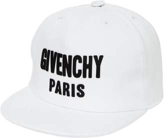 Givenchy Logo Cotton Gabardine Baseball Hat