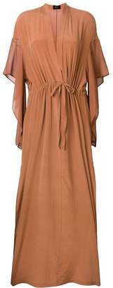 DAY Birger et Mikkelsen Lost & Found Ria Dunn side split maxi dress