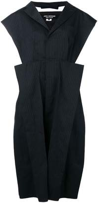 Junya Watanabe structured pinstripe dress