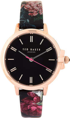 Ted Baker TE50641003 Rose Gold-Tone & Black Ruth Watch