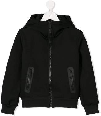 DSQUARED2 zipped hooded jacket