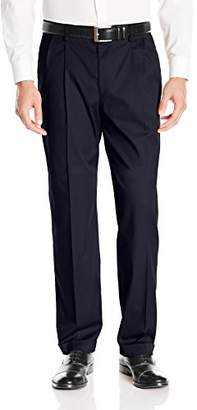 Dockers Iron Free Khaki D4 Relaxed Fit Pleated Pant